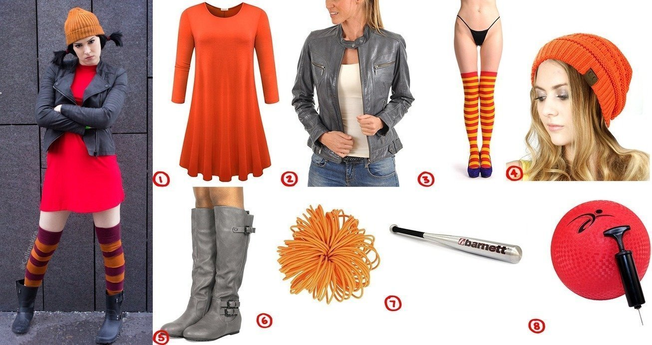dress like ashley spinelli from recess costume for cosplay & halloween