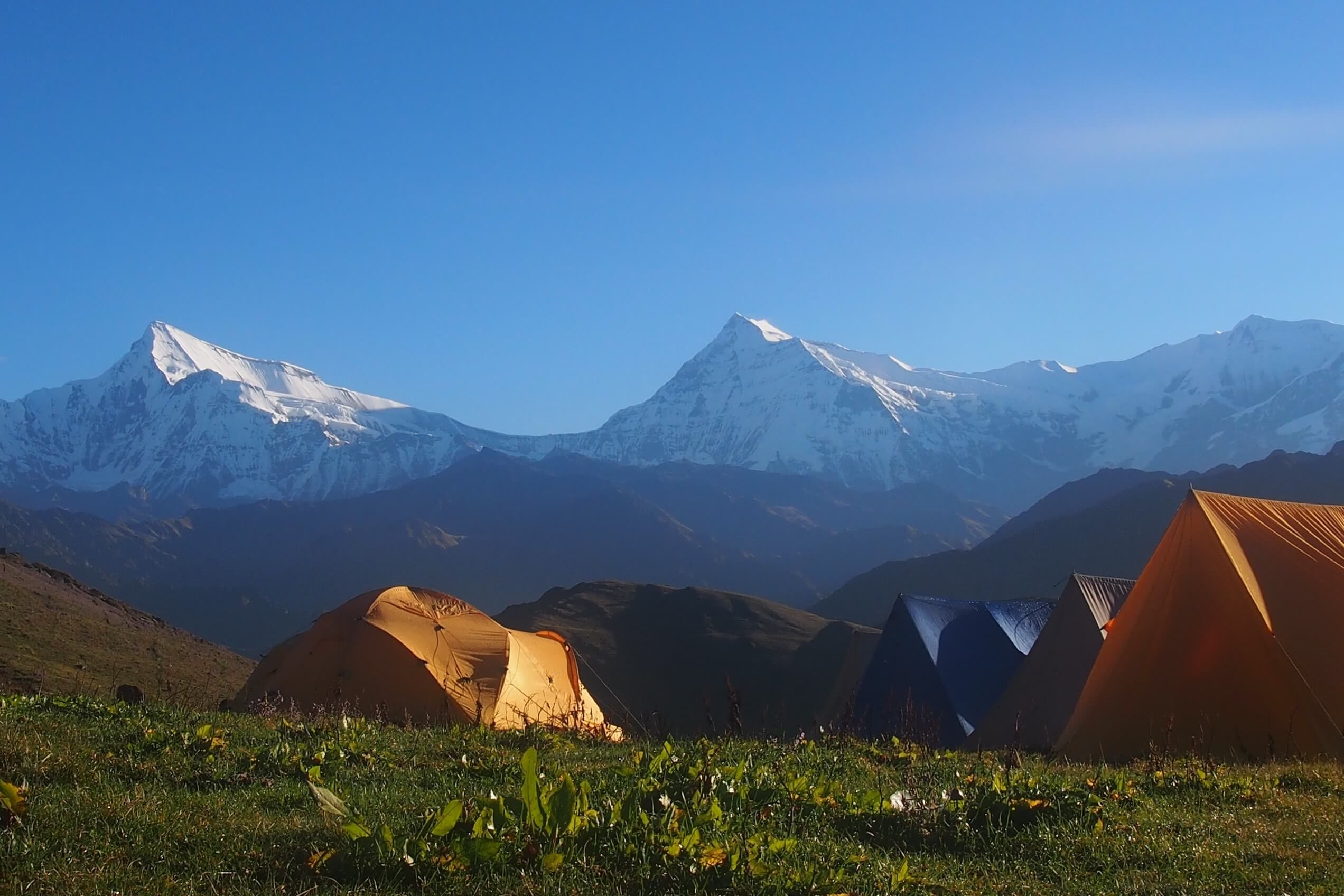 Dhorpatan Nepal - Himalayas in the Backdrop