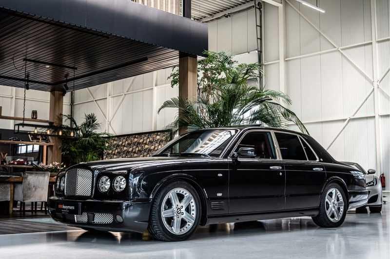 Bentley Arnage 6.8 V8 T (recent voor 20.000,- onderhouden) afbeelding 10