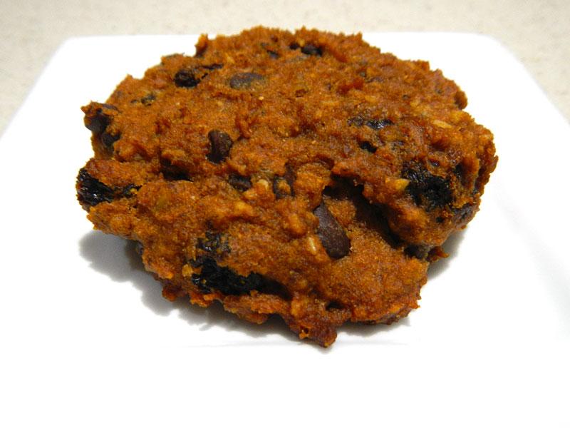 GF Vegan Pumpkin Chocolate Chip Cookie