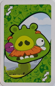 Angry Birds Green Uno Reverse Card