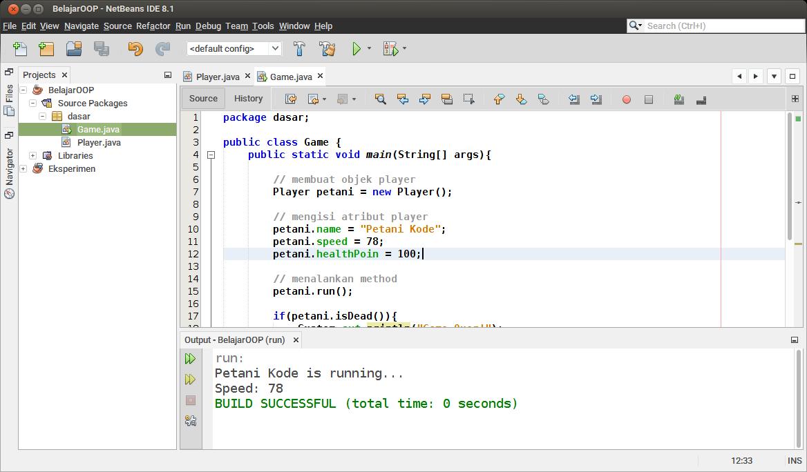 Examples of Java OOP Programs