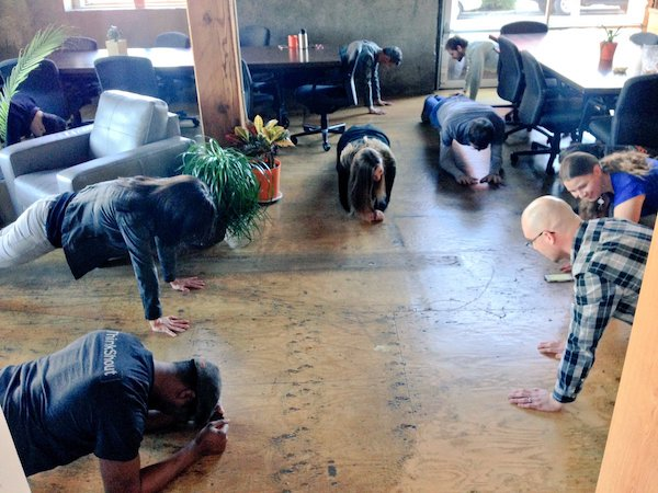 Group Plank
