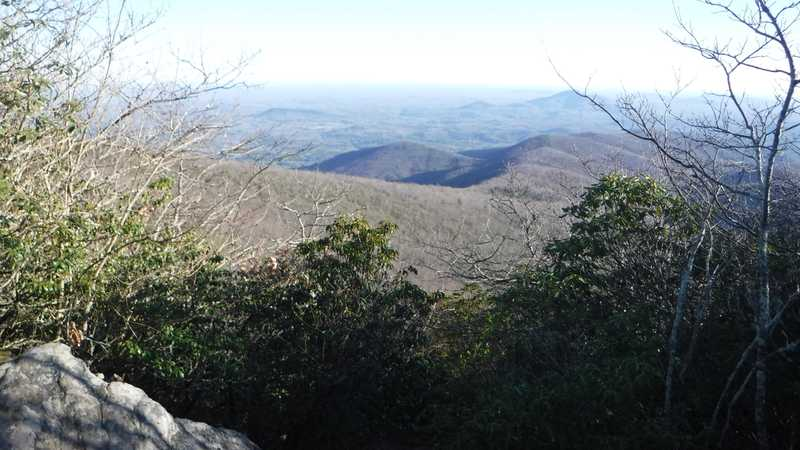 View from Tray Mountain