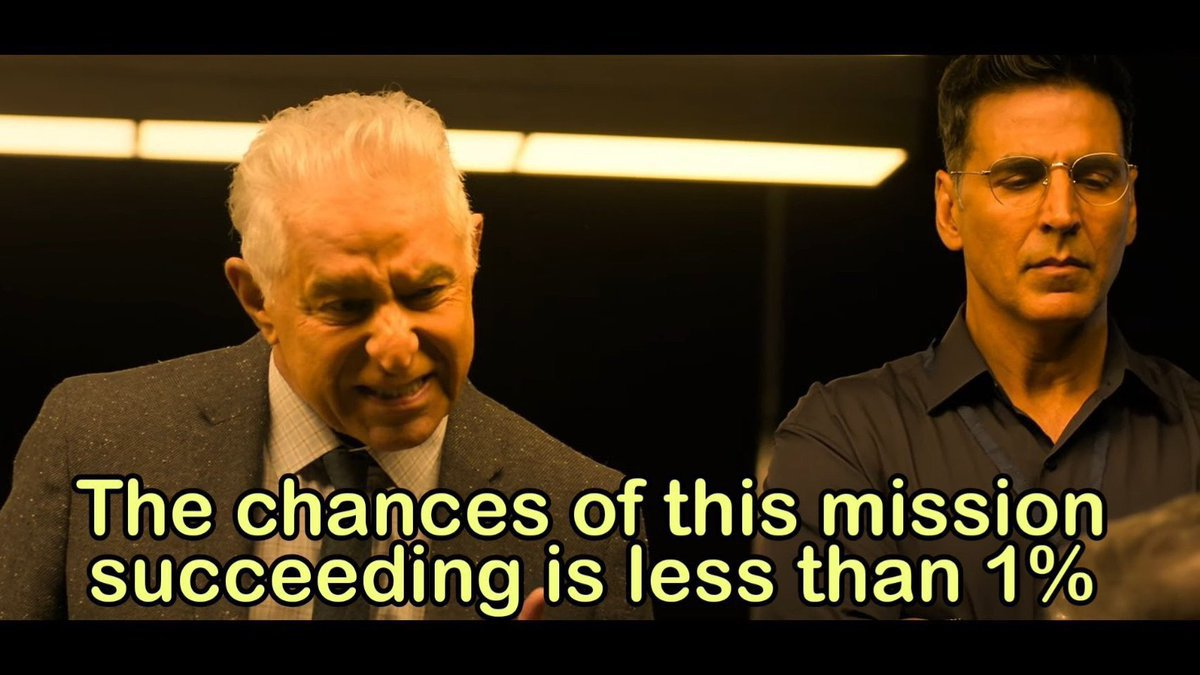 Dalip Tahil in Mission Mangal Trailer The chances of this mission succeeding is less than 1%