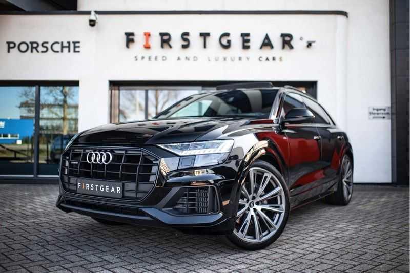 Audi Q8 55 TFSI Quattro *B&O / Pano / Memory / S-Sportstoelen / Head-Up Display*