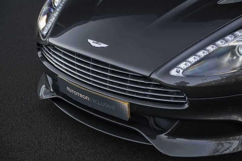 Aston Martin Vanquish Volante 6.0 V12 Touchtronic 2+2 1e eigenaar & NL Geleverd dealer onderhouden afbeelding 8