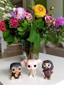 Der Niffler, Dobby und Mini Hagrid