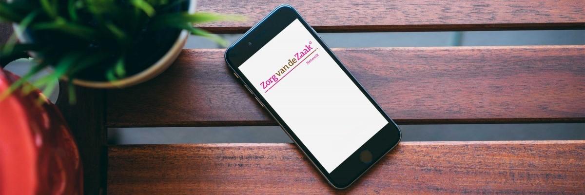 Applicatie Zorg van de Zaak op iPhone
