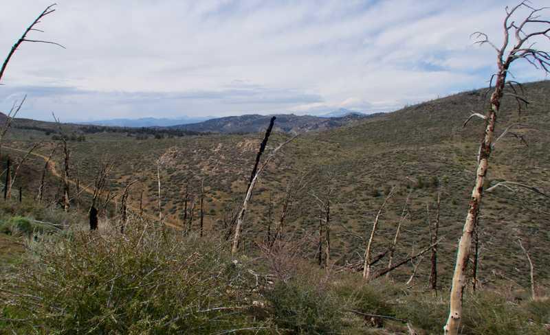 View of Sierra Nevada