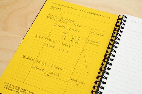 Maruman Mnemosyne Special Memo Notepad