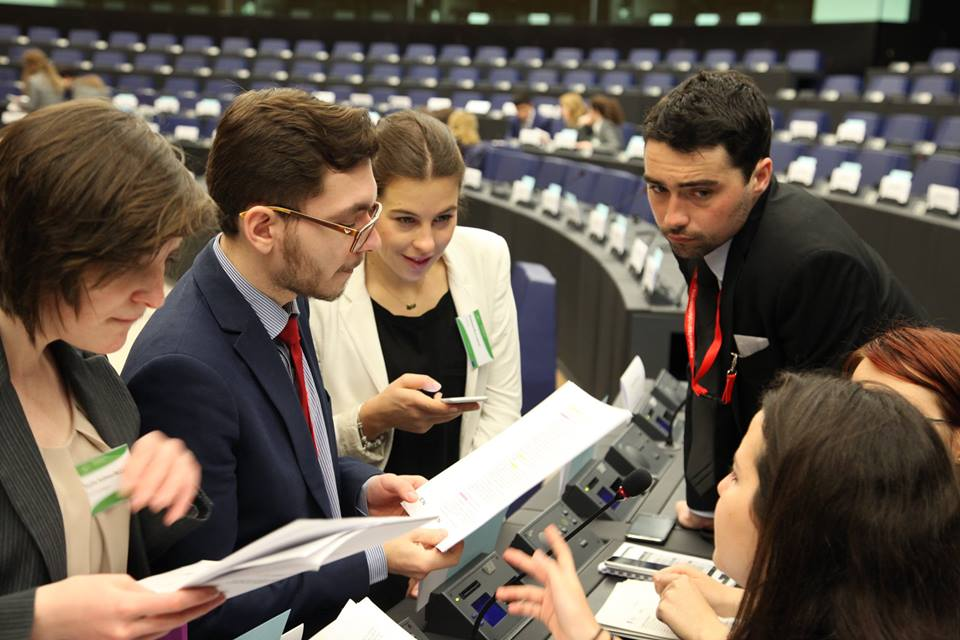 Model EU in Strasbourg 2016