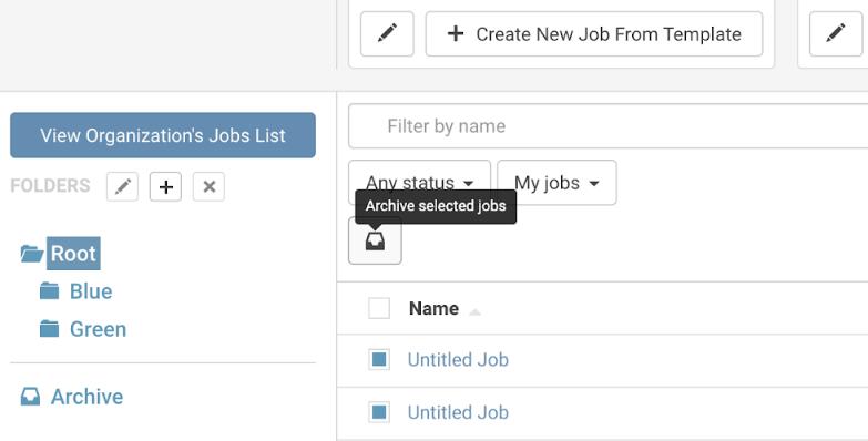 Archive Job