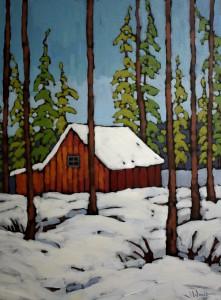 Jennifer Woodburn painting (3)