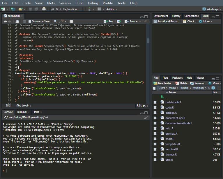 RStudio IDE Custom Theme Support | RStudio Blog