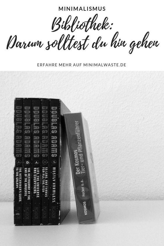 Pinterest Cover zu 'Wieso du wieder in die Bibliothek gehen solltest'