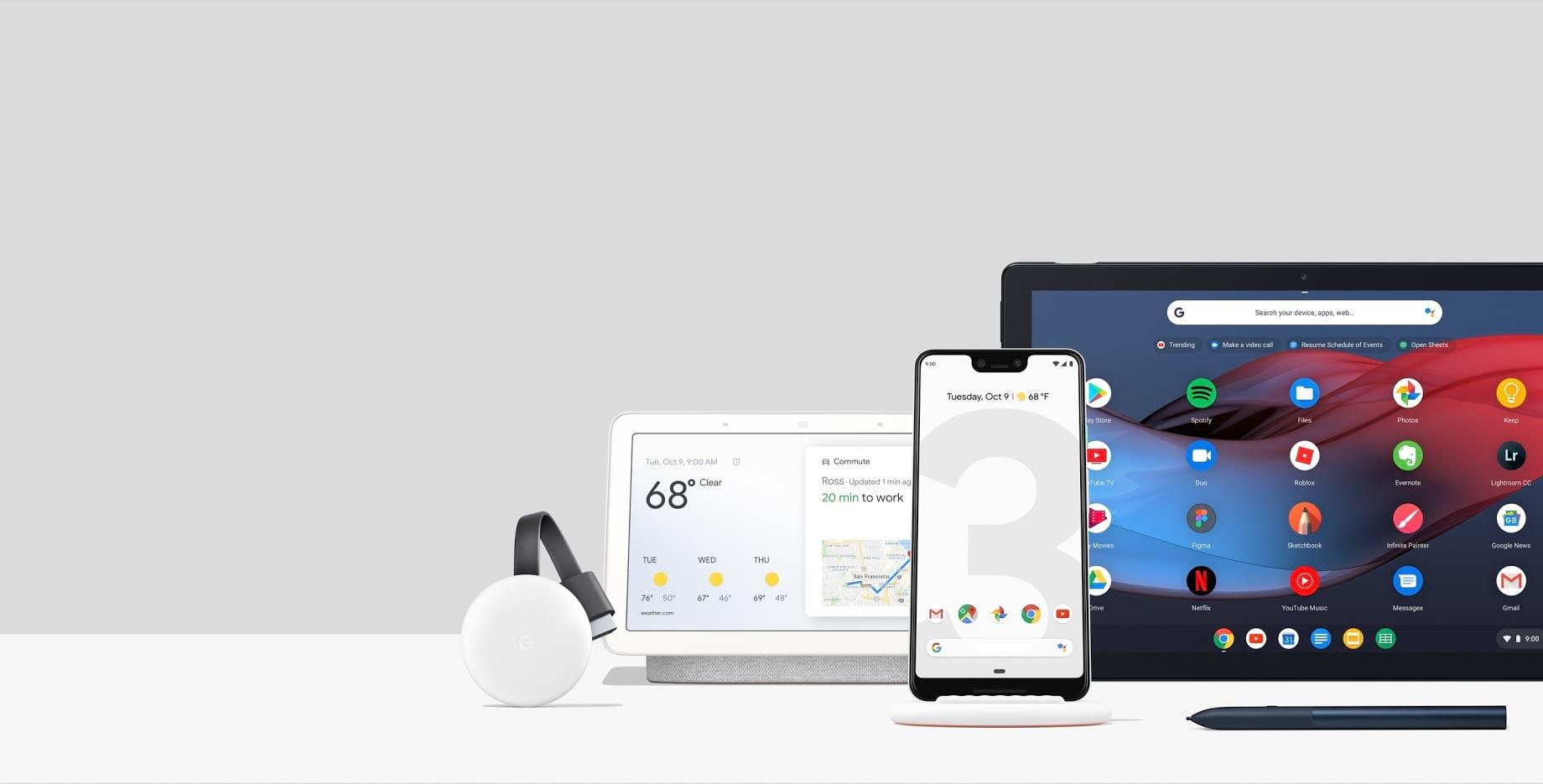 Google 2018 年新产品