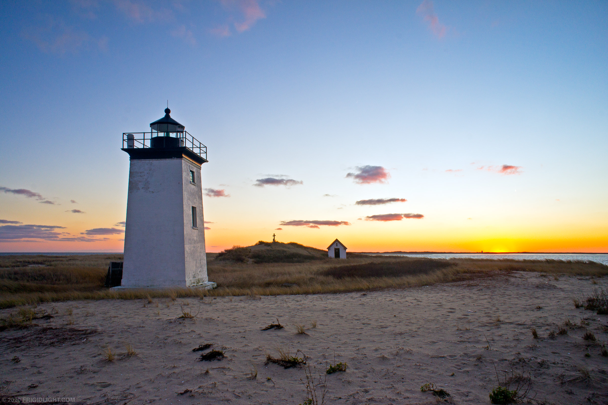 Long Point Lighthouse Sunset