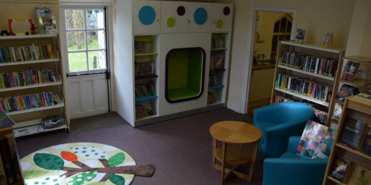Long Melford Library