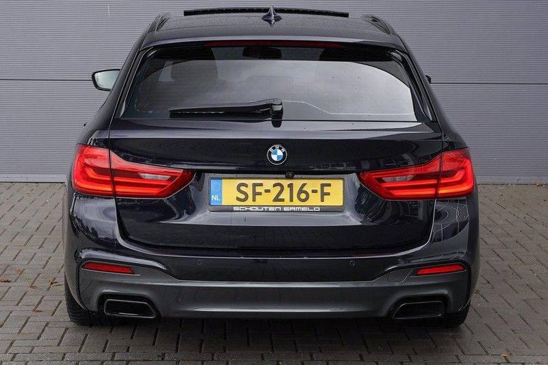 """BMW 5 Serie M550d X-Drive M-Pakket Shadow B&W Camera 360° Massage 20"""" afbeelding 10"""
