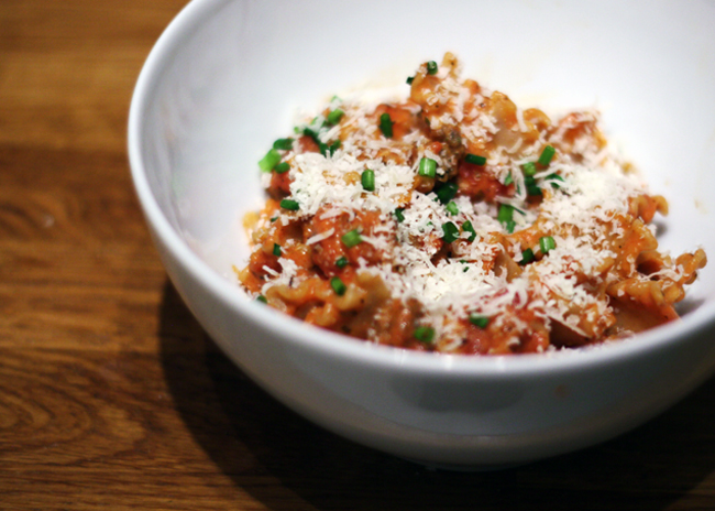 lasagne pasta bowl recipe