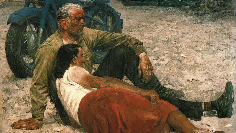 Гелий Коржев «Влюбленные», 1959