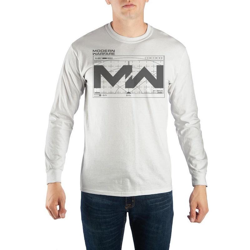 Call of Duty Modern Warfare White Sweatshirt Wear