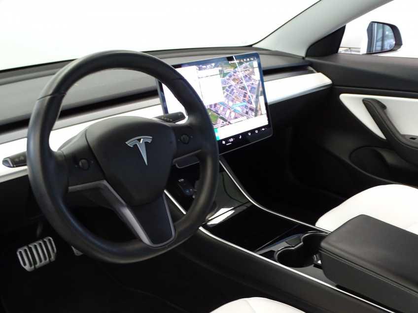 "Tesla Model 3 Long Range   prijs ex.btw 44.450,-   Wit Wit 19""LM% Bijtelling afbeelding 20"