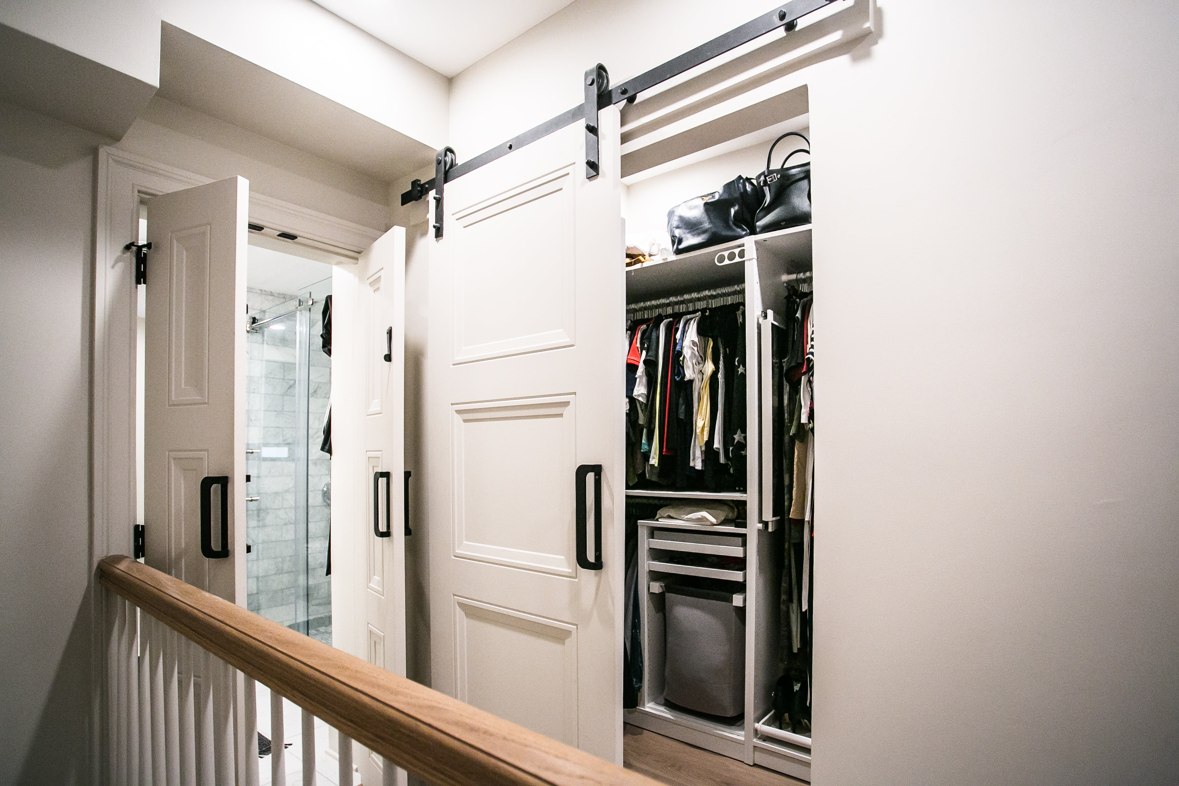 after walk-in closet