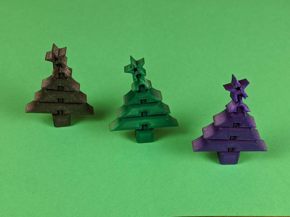 Flexi Christmas Tree - Ender 3