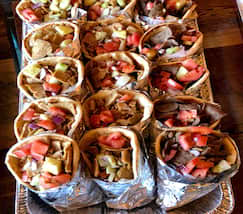 Gyros Or Grilled Chicken - Fast Catering Delivery - CT