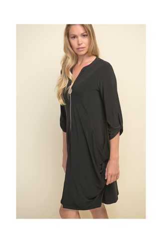 The Laurie Circle Zipper Tunic