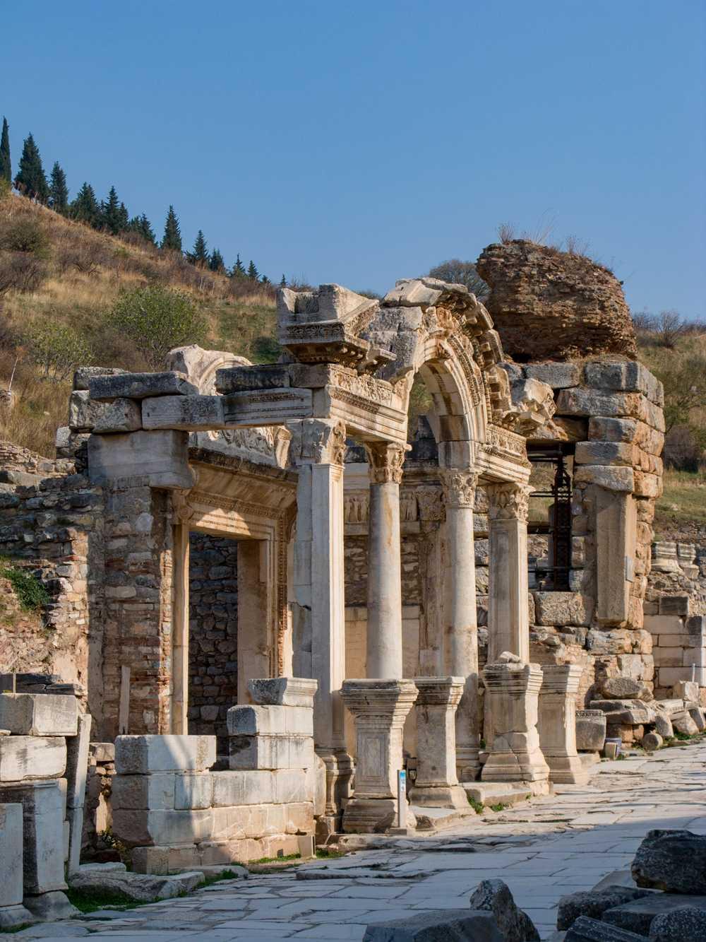 Arch of Hadrian's Temple, Ephesus