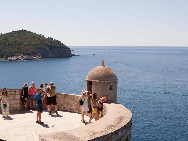 Taking In Dubrovnik When Sailing Croatia