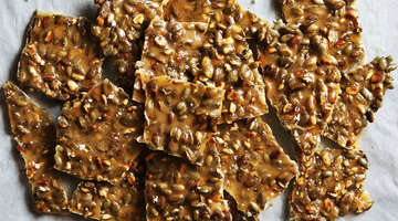 Holiday Pepita Brittle