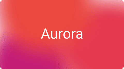 Aurora UI example of usage