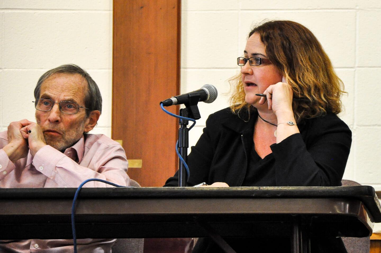 Sandra Dreisbach at San Quentin Ethics Bowl