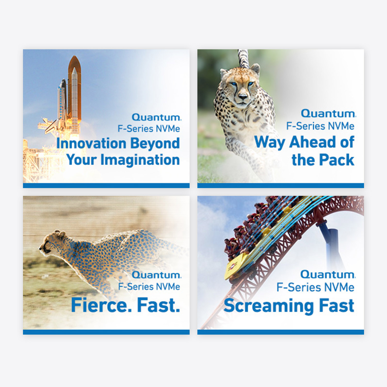 ad campaign graphic design banners