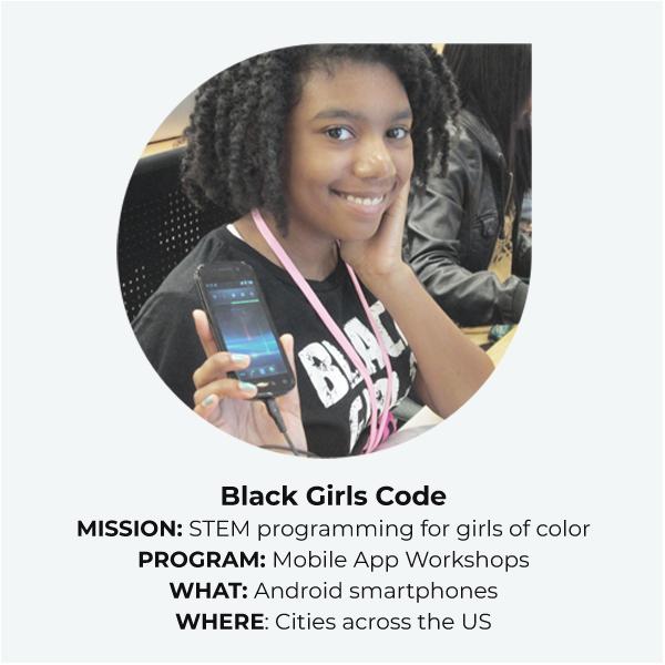 Black Girls Code Mobile App Workshop