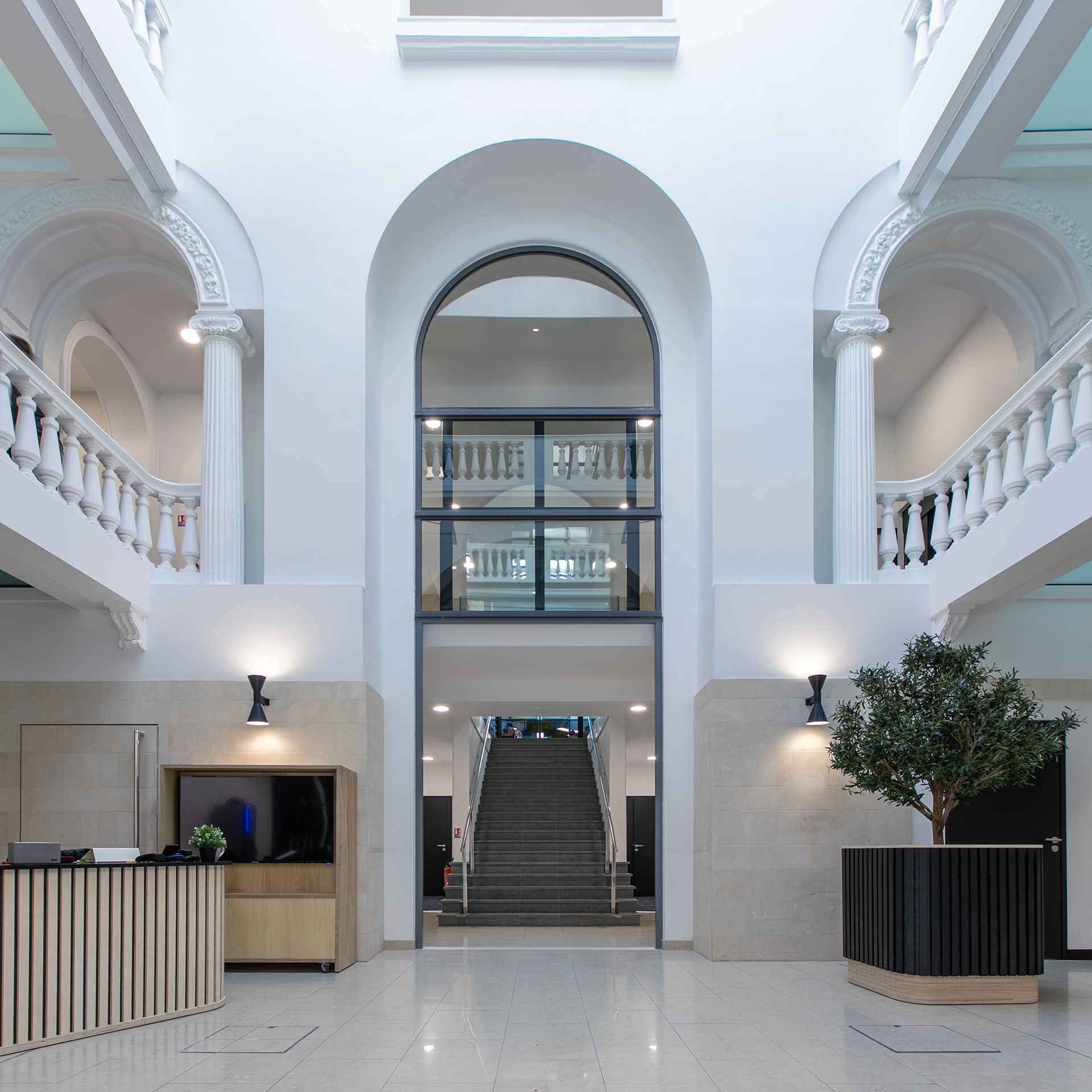 Hall accueil Le Palace Nantes
