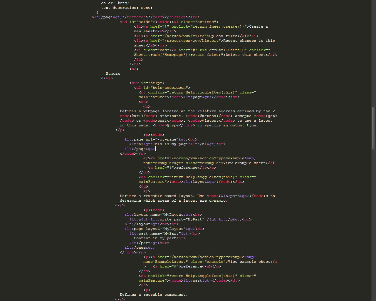 Sublime Text's 'distraction-free' mode. Do you feel immersed?