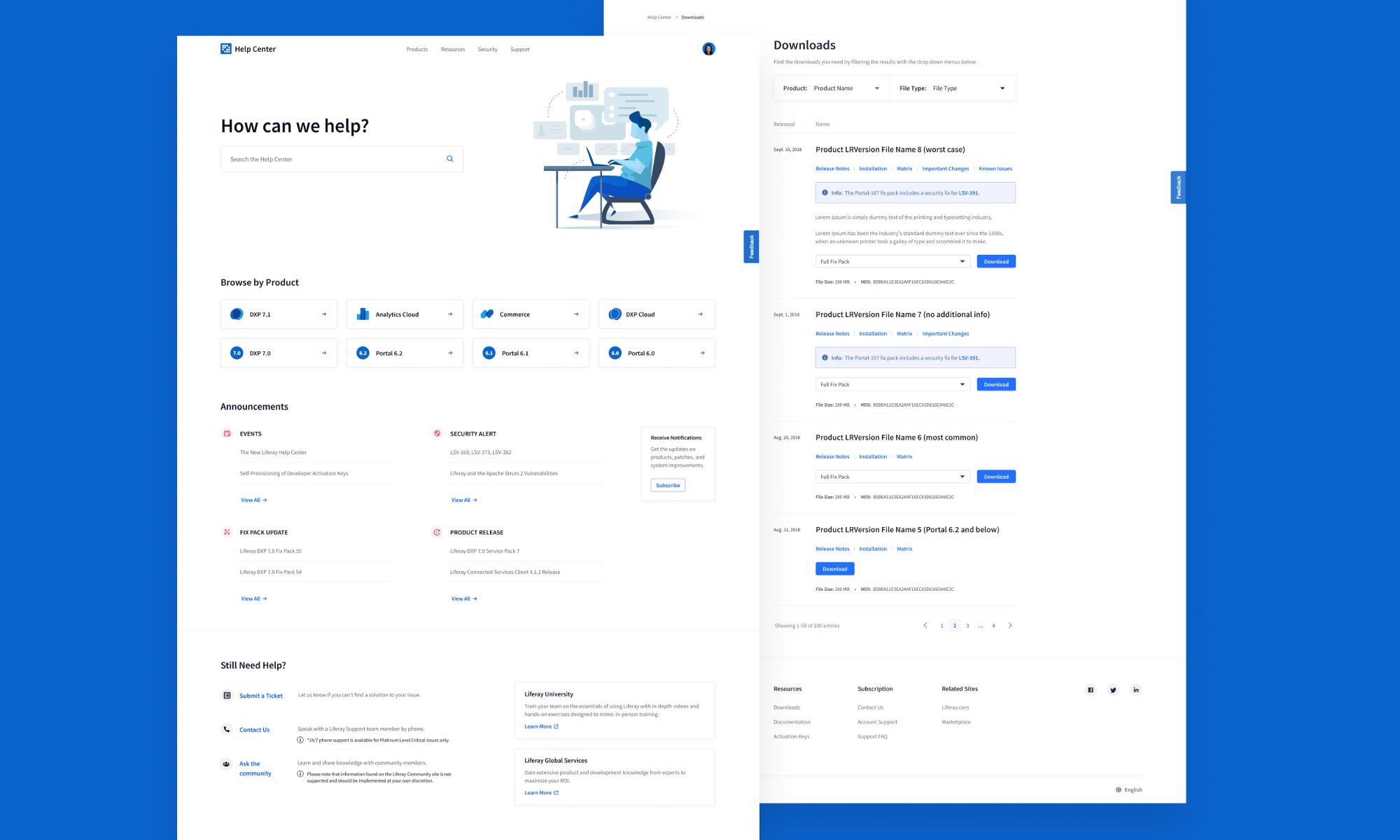 Liferay Customer Portal