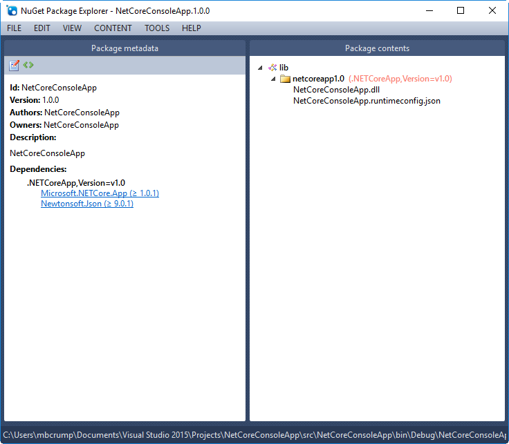 Day 4 - Creating a NuGet Package from  NET Core app