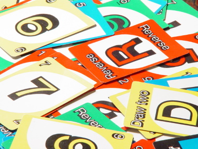 Old Uno Cards