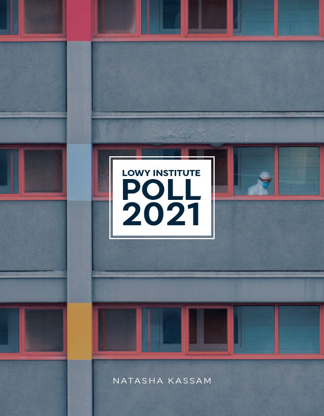 Lowy Institute Poll 2021 Cover