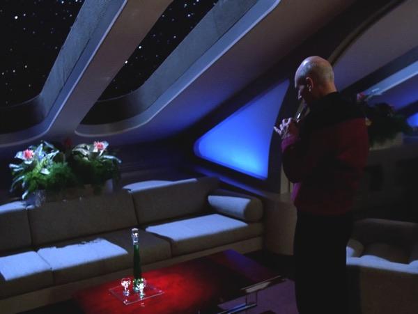 Jean-Luc Picard, sole carrier of the dead civilisation's culture