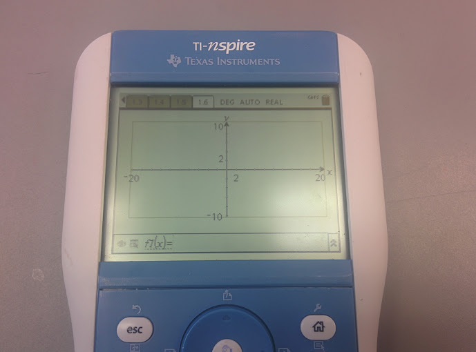 TI-Nspire Prototype Graphing