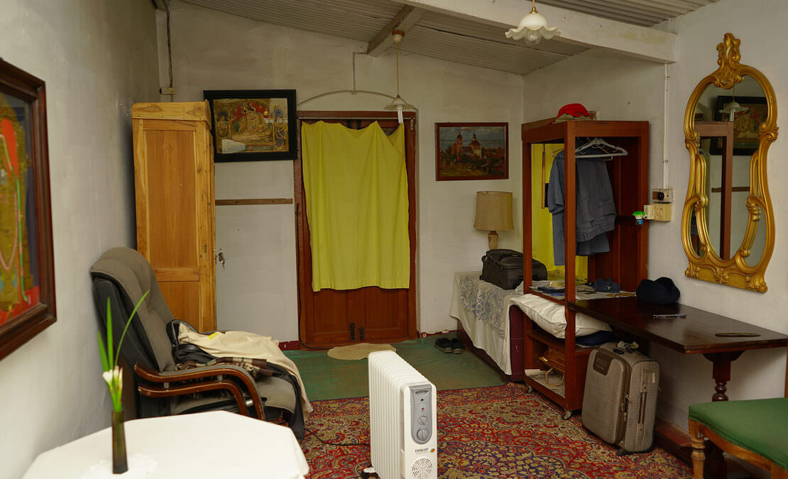 Interior picture of a bedroom