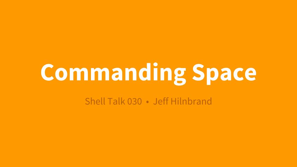 Commanding Space logo