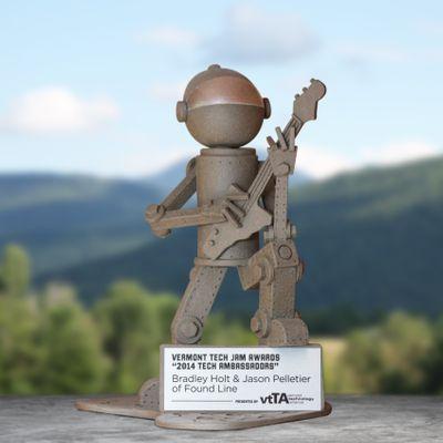 Vermont Tech Jam 2014 Ambassador Award